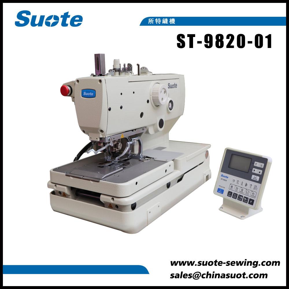 Button Eyelet Elektronik Holer Sewing Machine